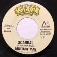MILITARY MAN / SCANDAL - SIZZLA / NAH HEAR