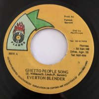 EVERTON BLENDER / GHETTO PEOPLE SONG