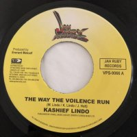 KASHIEF LINDO / THE WAY THE VIOLENCE RUN