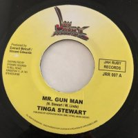 JAH RUBY / MEK DEM TALK - TINGA STEWART / MR. GUN MAN