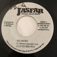 LLOYD BROWN / NO MORE