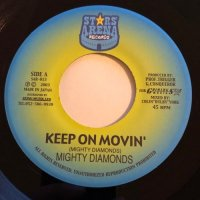MIGHTY DIAMONDS / KEEP ON MOVIN' - U-ROY / BETTA MOVIN'