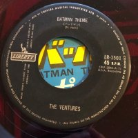 VENTURES / BATMAN THEME - THE MAN FROM UNCLE