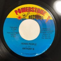 ANTHONY B / HERBS PEOPLE - SINGER J / PUND A HERB