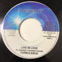 TURBULENCE / LIVE IN LOVE
