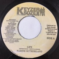 NADINE SUTHERLAND / LIFE - BRAIN & TONY GOLD / MY PLACE