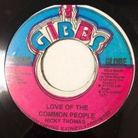 NICKY THOMAS / LOVE OF THE COMMON PEOPLE