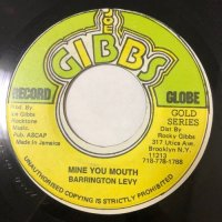 BARRINGTON LEVY / MINE YOU MOUTH
