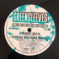 KRYSTAL & SHABBA RANKS / STEADY MAN