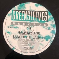 SANCHEZ & LADY G / HALF MY AGE - KRYSTAL / TWICE MY AGE