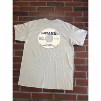 JHAKX feat. YARDIES SHACK / VINYL TEE (SAND X NAVY)