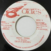 DENNIS BROWN / HERE I COME
