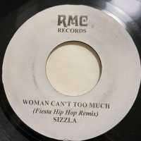 SIZZLA / WOMAN CAN'T TOO MUCH - UNKNOWN ARTIST HEAT WAVE RIDDIM