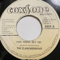 CLARENDONIANS / YOU WON'T SEE ME - HUGH BLACK / LONG LIVER MAN