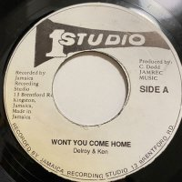 DELROY WILSON & KEN BOOTHE / WON'T YOU COME HOME