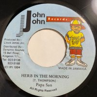 PAPA SAN / HERB IN THE MORNING