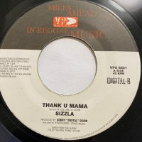 SIZZLA / THANK YOU MAMA - SOLID AS A ROCK