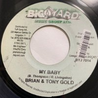 BRIAN & TONY GOLD / MY BABY - SHYAM / ALWAYS