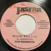 GLEN WASHINGTON / WHERE WILL I GO