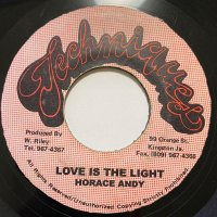 HORACE ANDY / LOVE IS THE LIGHT