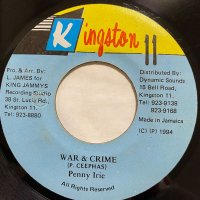 PENNY IRIE / WAR & CRIME