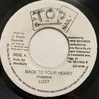LUST / BACK TO YOUR HEART