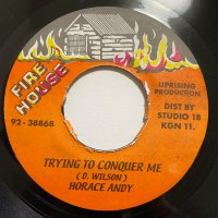 HORACE ANDY / TRYING TO CONQUER ME