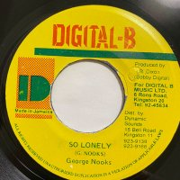 GEORGE NOOKS / SO LONELY
