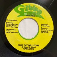 CAPLETON / THAT DAY WILL COME