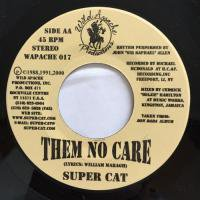 SUPER CAT /  THEM NO CARE - JAH RUN THINGS