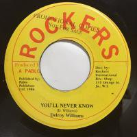 DELROY WILLIAMS / YOU'LL NEVER KNOW