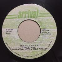 BARRINGTON LEVY & JOSEY WALES / PICK YOUR CHOICE
