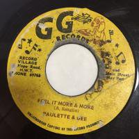 PAULETTE & GEE / FEEL IT MORE & MORE