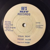 FREDDIE McKAY / EQUAL RIGHT