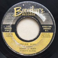 DERRICK MORGAN / THE HOP - DERRICK & MONTY MORRIS / LOVING GIRL