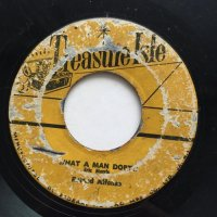 ERIC MONTY MORRIS / WHAT A MAN DOETH - ROLAND ALFONSO / RUDE BOY