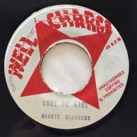 MIGHTY DIAMONDS / LOVE ME GIRL - I ROY / ROOTSMAN