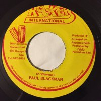 PAUL BLACKMAN / SAY SO - PABLO ALLSTARS / DUB SO