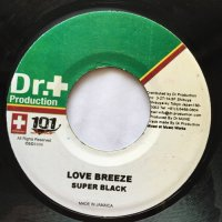 SUPER BLACK / LOVE BREEZE - KING-K / STANCE