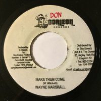 WAYNE MARSHALL / MAKE THEM COME