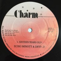 ECHO MINOTT & HEAVY D / SIXTEEN YEARS OLD - ECHO MINOTT / ONE TWO BOGLE
