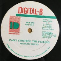 ANTHONY MALVO / CAN'T CONTROL THE FEELING - HISTORY SOUND