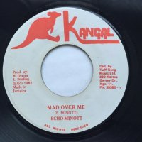 ECHO MINOTT / MAD OVER ME