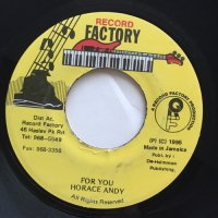 HORACE ANDY / FOR YOU