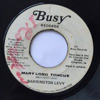 BARRINGTON LEVY / MARY LONG TONGUE