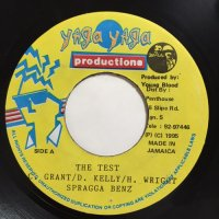 GRANT, D. KELLY, H. WRIGHT, SPRAGGA BENZ / THE TEST