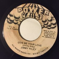 JIMMY RILEY / GIVE ME YOUR LOVE