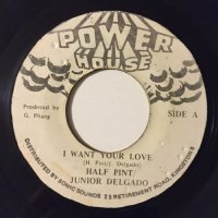 HALF PINT & JUNIOR DELGADO / I WANT YOUR LOVE