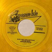 PHYLLIS DILLON / BOYS AND GIRLS REGGAE - LOVE IS ALL I HAD