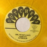 ALTON ELLIS / GIRL I'VE GOT A DATE - TOMMY McCOOK & SUPER SONICS / YELLOW BASKET